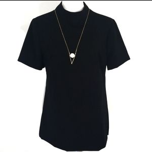 Trina Turk black blouse size medium